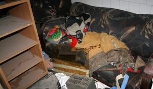 Изхвърляне на боклуци от апартамент