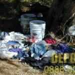 Почистване на дворове с извозване на боклуци