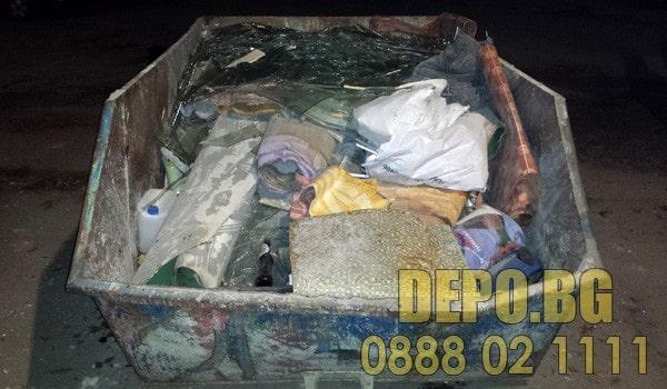 Извозване на боклуци