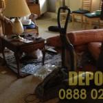 Изхвърляне на стари мебели и багаж