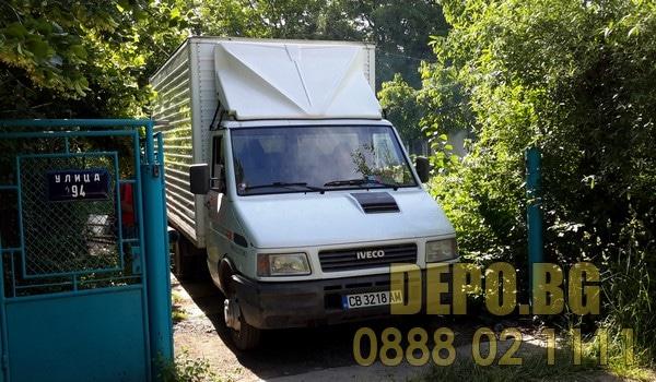 Фургони за извозване на отпадъци