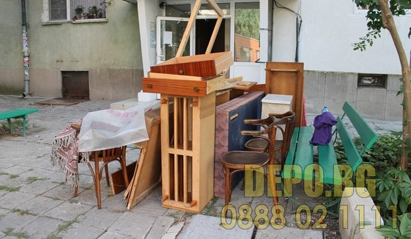 Извозване на боклук в София
