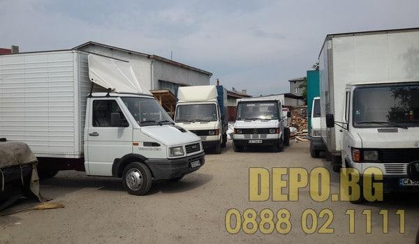 Камиони за извозване на строителни отпадъци