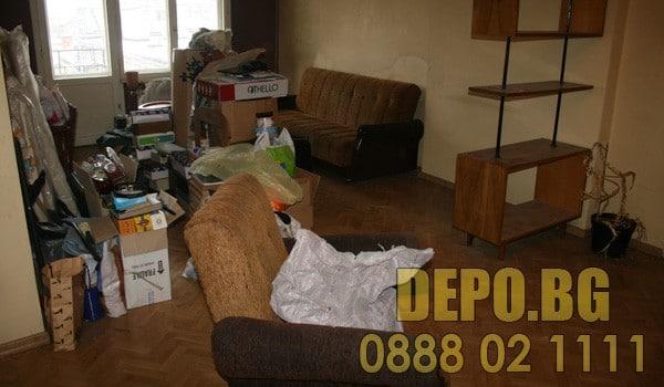 Извозване на боклуци от апартамент
