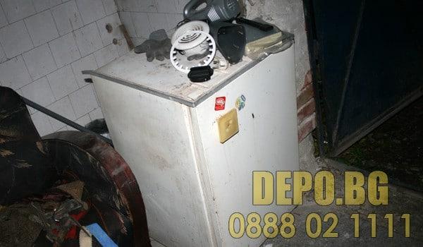 Изхвърляне на печки електроуреди