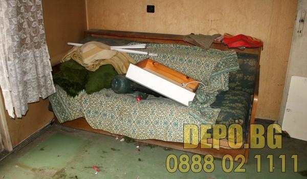 Стари мебели извозване до депо