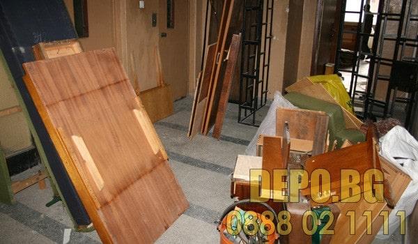 Демонтаж  и извозване на гардероб