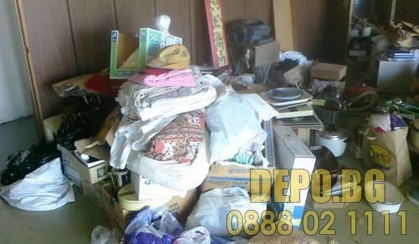 Изриване и извозване на мебели