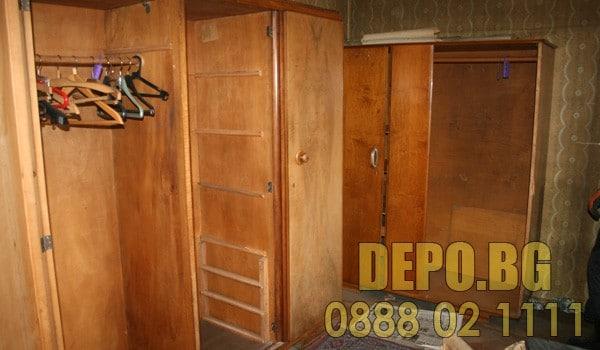 Разглобяване и извозване на стари мебели