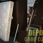 Изпразване на апартамент с мебели и боклуци
