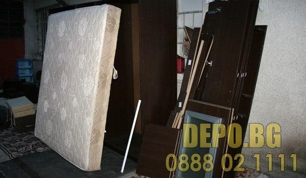 Изпразване на апартамент от мебели и уреди