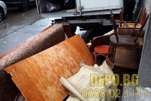 Извозване на отпадъци от апартамент