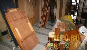 Изхвърляне на мебели от апартамент в центъра на гр. София