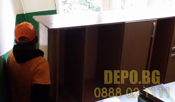 ДЕПО за извозване и изхвърляне на стари мебели