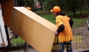 Сваляне и изнасяне на стари мебели в София