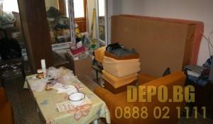Събиране и изнасяне на стари мебели в София