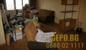 Изхвърляне на стари мебели и демонтаж