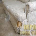 Изхвърляне на стара мека мебел