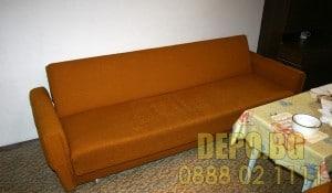 ДЕПО за изнасяне на стар диван и легла