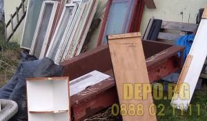 Демонтаж на стара дограма и изхвърляне на ДЕПО