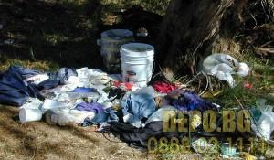Хамали за изнасяне и изхвърляне на битови отпадъци