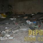 Почистване на мазе от боклуци