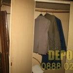 Демонтаж на гардероб и извозване до депо в София