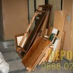 Изхвърляне на дървения от дограма за София