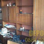 Събиране и извозване на стари мебели от центъра на София