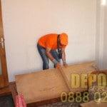 Демонтиране и изхвърляне на мебели