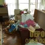 ДЕПО за изхвърляне на стари мебели до сметище