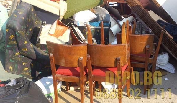 изнасяне на столове София