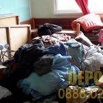 Почистване на стар апартамент с хамали в София