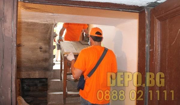 Почистване на вехти мазета и тавани