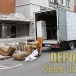 Депо където се изхвърлят стари мебели