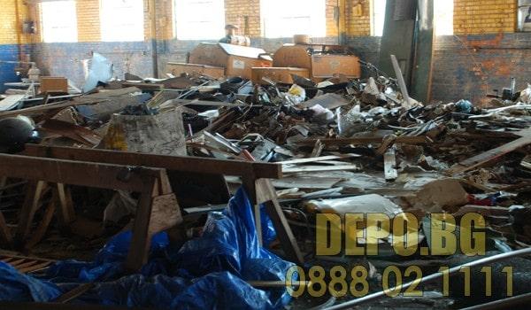 Извозване на отпадъци цена до депо в София