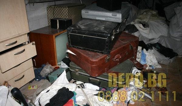 изхвърляне на стари вещи столична община