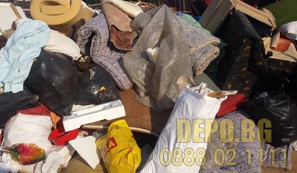 почистване и извозване на отпадъци от адрес