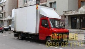 Изнася товари и извозва до депо в София